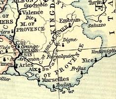 carte comté forcalquier